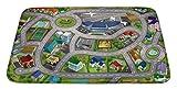 """House of Kids 88230-e370x 95cm """"Speed Way City Flughafen"""" Ultra Soft Play Matte"""