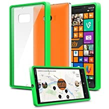 Orzly® - LUMIA 930 - Caja DURO Fusión Gel Funda VERDE (Alias: Fusion Gel Hard Case GREEN Phone Cover Skin) para NOKIA / WINDOWS LUMIA 930 SmartPhone / Teléfono Móvil - 2014 Modelo
