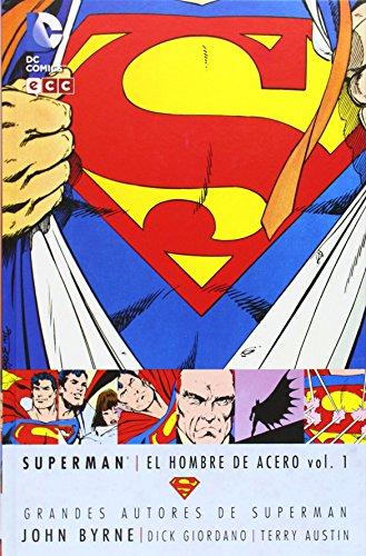 Grandes autores de Superman - John Byrne: El hombre de acero vol. 1 (segunda edición) por Dick Giordano, Terry Austin John Byrne