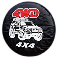 WHEEL COVER WHEELCOVER SPARE TYRE TIRE 4X4 4WD FOR ALL SIZES