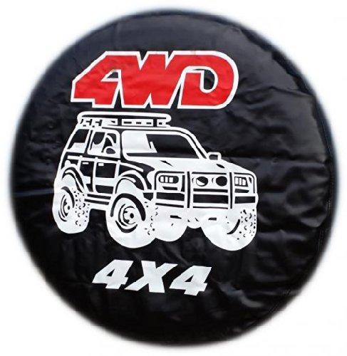 Radabdeckung für Reserverad, Allrad-Antrieb, für alle Größen (Cover Jeep Hummer Reifen)