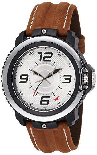 51bS9WVPL8L - 38017PL02 Fastrack Grey/Silver Mens watch