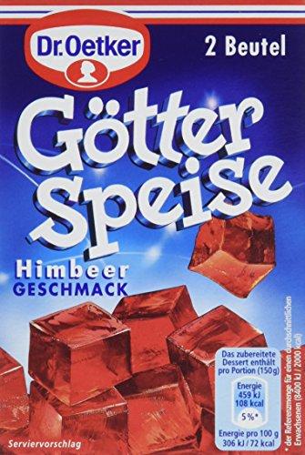 Dr. Oetker Götterspeise Himbeer, 12er Pack (12 x 25 g)