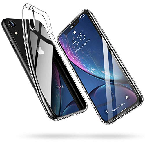Plus Soft Silicone TPU Transparent Clear Case Soft Back Case Cover with Packaging Kit for Apple iPhone XR