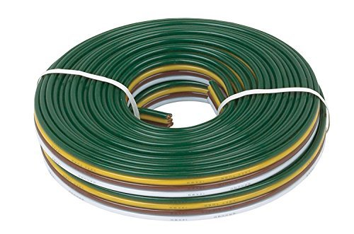 Hopkins 49905 14 Gauge 4 Wire Bonded Wire Spool, 25 Feet by Hopkins Towing Solutions (Spool 4 Gauge)