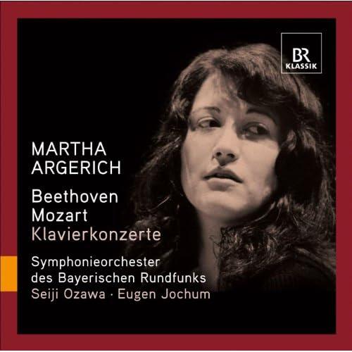 Beethoven, L. Van: Piano Concerto No. 1 / Mozart, W.A.: Piano Concerto No. 18 (Argerich, Bavarian Radio Symphony, Ozawa, Jochum)