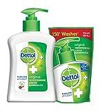 #10: Dettol Original Liquid Hand Wash - 200 ml with Dettol Liquid Soap Refill - 185 ml