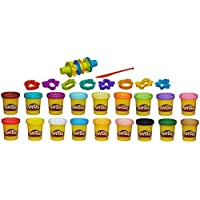 Play-doh Super Color Kit, 18 Fun Colors, 16 Tools and Accessories by Play-Doh