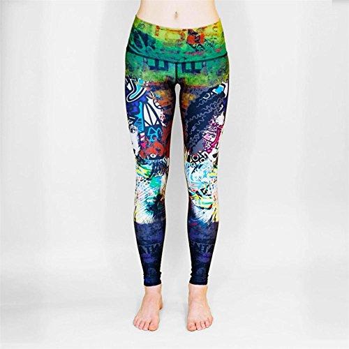 HYHAN Proiettile di velocità traspirante ultra sottile movimento dell'anca a fare yoga pantaloni donna , yoga-0071 , m