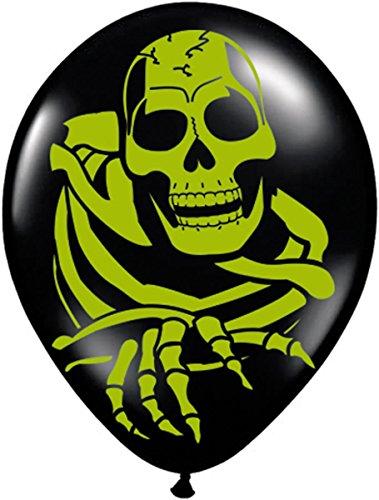 8 Luftballons * HALLOWEEN * für Kindergeburtstag // 30cm Durchmesser // Kinder Party Feier Fete Geburtstag Karten Ballon Luftballon