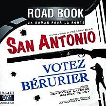 Roadbook - San Antonio - Votez Bérurier d'après Frédéric Dard