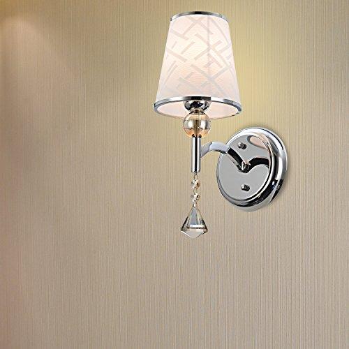 OOFAY LIGHT Moderne Kristall Wandleuchte mit 1 Licht (Mount Fixture 1 Licht)