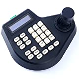 PTZ Speed Dome Camera Controller Joystick Keyboard 2D LCD Display For CCTV Security Systems