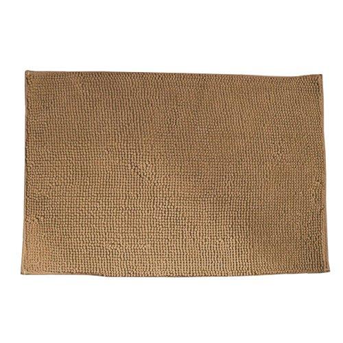 Badematte 90 x 60 cm beige sand
