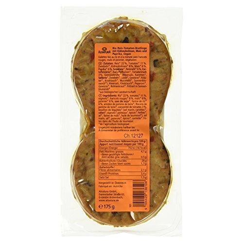 Alnatura Bio Bratlinge mexikanisch, vegan, 6er Pack (6 x 175 g) - 4
