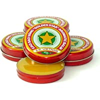Preisvergleich für 12 Boxes X 3 Grams (Net Weight), Golden Star Balm, Cao Sao Vang Vietnam, Aromatic Balsam by Golden Star Balm