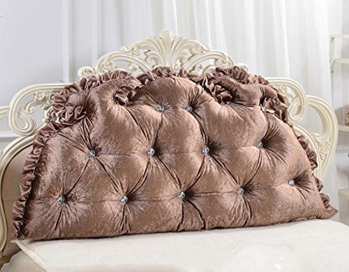 XUEYAN Europäische Doppelbett Kissen Soft Pack Bett große Kissen Bett Rückenpolster (größe :...