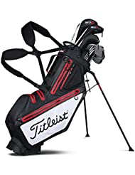 Titleist Players 5 stadry Waterproof Standbag Negro/Blanco/Rojo
