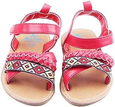 Tefamore Sandalias Zapatos De Bebé Al Aire Libre Toddler Princesa First Walkers