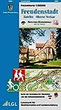Freudenstadt, Kniebis, oberer Neckar: Karte des Schwäbischen Albvereins und des Schwarzwaldvereins  (Naturpark Schwarzwald Mitte, Nord 1:50000, Band 4)