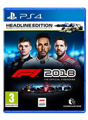formel eins ps4 F1 2018 Headline - DayOne Edition - [PS4]