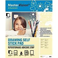 mastervison 635x 775mm Istruzione Disegno autoadesivi, con 30fogli (Confezione da 2)