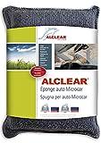 ALCLEAR 950014 950014IF Spugna in Microfibra Ultra Microcar, per i Finestrini Appannati, Antracite-Blu