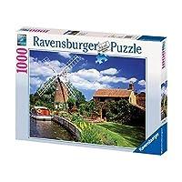 Ravensburger-15786-Malerische-Windmhle Ravensburger Puzzle 15786 – Malerische Windmühle – 1000 Teile -