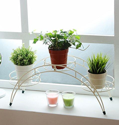 Pflanzenstandplatz Eisenkunst-Blumen-Stand passend für Wohnzimmer-Balkon im Freien