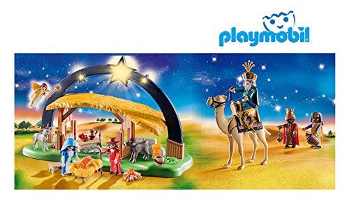 Outletdelocio. Belen Navidad Playmobil con Luz