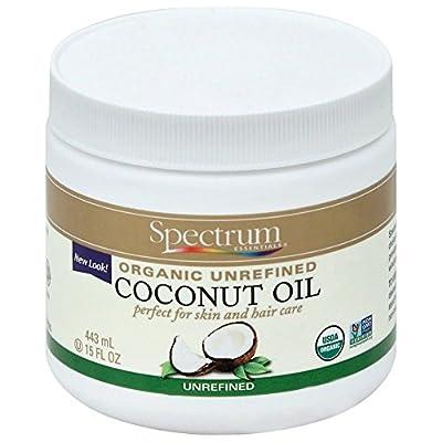 Spectrum Essentials Organic Unrefined Coconut Oil Body Cream 444 ml by Spectrum Organic
