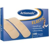 Actiomedic ELASTIC Pflasterstrips, 19 x 72 mm, Pack à 100 Stück preisvergleich bei billige-tabletten.eu
