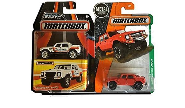 Buy Matchbox Lamborghini Lm002 2 Car Bundle Best Of Limited Edition