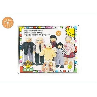 Beeboo 32306 - Familia para casita de muñecas [Importado de Alemania] por beeboo