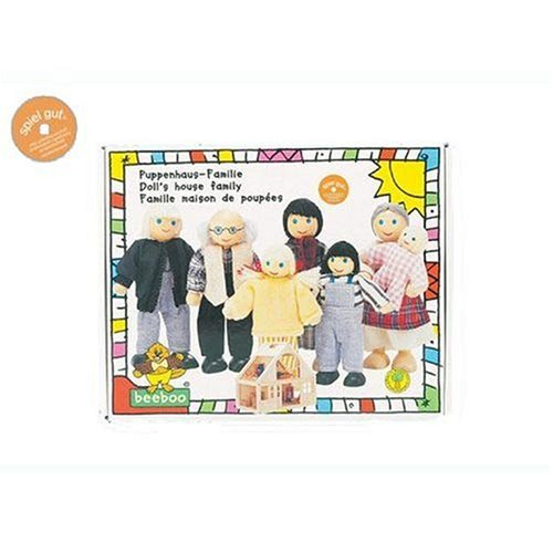 Beeboo 32306 - Puppenhaus-Familie