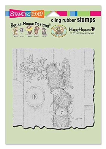 Stampendous hmcw07Klingeln, Ringers House Maus Stempel