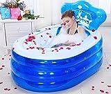weiwei Nach hause aufblasbare badewanne falten,Verdickte pvc adult badewanne Kostenlose pumpe-A klein