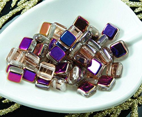 40pcs-cristal-sliperit-violet-bleu-de-la-moitie-tcheque-tuile-de-deux-2-dans-le-trou-carre-de-perles