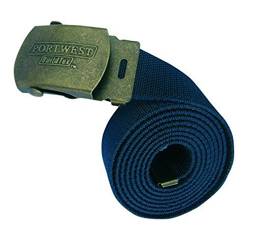 Portwest C107NARXL Cintura Elasticizzata Blu Navy XL