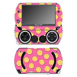 Disagu SF-14232_1075 Design Folie für Sony PSP Go – Motiv Orangen rosa transparent