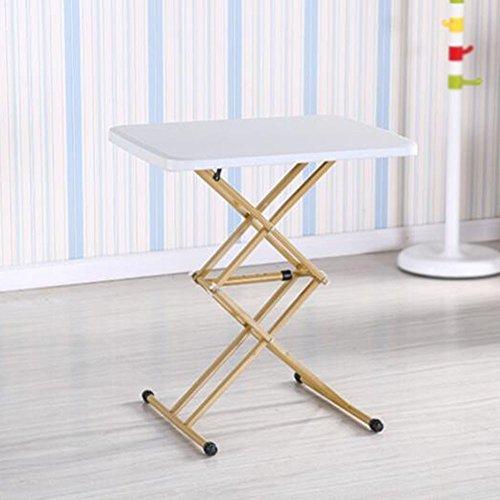 Mobile Computer-arbeitstisch (XIAOLIN Bequeme einfache Schreibtisch-Bett-Schreibtisch-Tischplatte Tisch-Nachttisch-Lern-Schreibtisch Haushalts-Student-Computer-Schreibtisch-entfernbare Bett-Studie Tisch-Kinderschreibtisch-justierbare Höhe Laptop-Tabelle, tragbarer stehender Schreibtisch-Haushalts-anhebender Tabellen-kleiner Werkbank-fauler Schreibtisch)