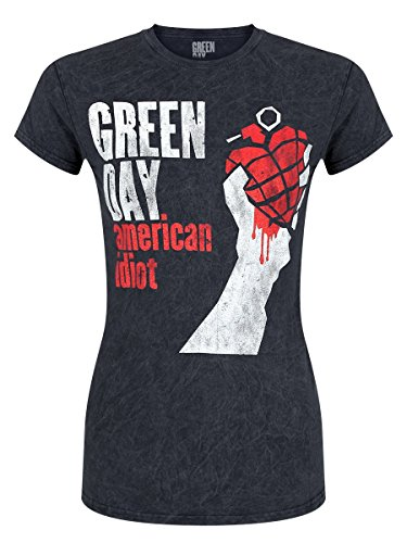 green-day-t-shirt-american-idiot-da-donna-in-nero