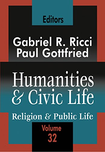 Humanities and Civic Life: Volume 32 (Religion and Public Life)