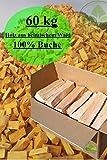60 kg Brennholz 100% Buche Kaminholz Feuerholz ofenfertig kammergetrocknet 25 - 30 cm