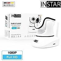 INSTAR IN-8015 Full HD Weiss / IP Kamera / ONVIF / Überwachungskamera / LAN WLAN WiFi / PIR / WDR / Bewegungserkennung / Nachtsicht / Weitwinkel / steuerbar / Mikrofon / Lautsprecher / Baby Monitor