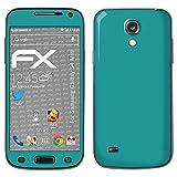 atFolix Samsung Galaxy S4 mini Skin FX-Soft-Turquoise Designfolie Sticker - Matte Oberfläche