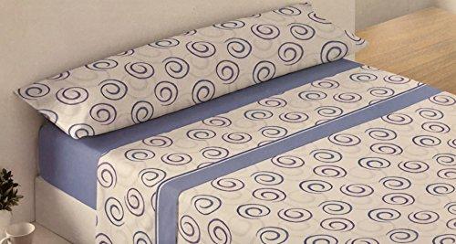 mercatohouse – Gamanatura Parure de lit Microfibre Eco – Modern (Cadeau Lot de 3 essuie-Mains en) Cama - 105