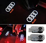 Grolish 2 Piece Car Door LED Lighting Entry Ghost Shadow Projector Welcome Lamp Logo Light
