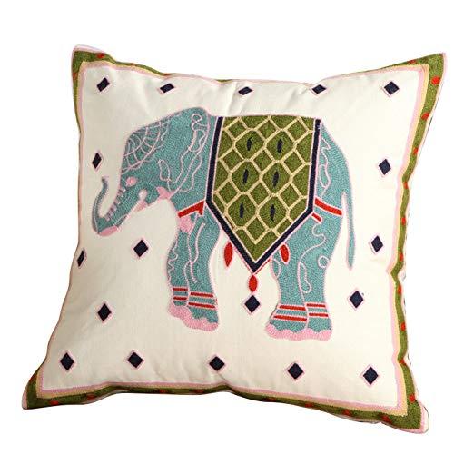 probeninmappx - Funda de cojín (45 x 45 cm), diseño de Elefantes