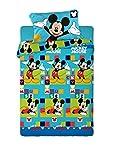 Disney Juego de Sábanas Térmica Polar 150GR Mickey (para Cama de 105x190)